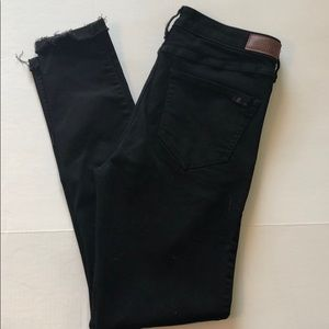 hollister | high rise super skinny multiple button
